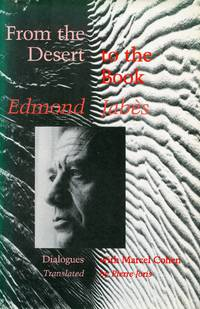 image of From the Desert to the Book: Dialogues with Marcel Cohen