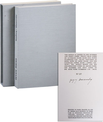 New York: Associated American Artists, 1970. First Edition. Limited Issue, one of 150 numbered copie...