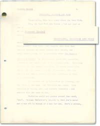 image of Champagne, Diamonds and Mink (Original treatment script for an unproduced film)