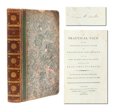 London: T. Cadell and W. Davies, 1797. First edition. Contemporary half morocco over marbled boards ...