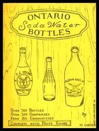 ONTARIO SODA WATER BOTTLES - Including Price Guide