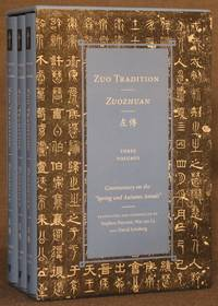 """ZUO TRADITION; ZUOZHUAN: Commentary on the """"Spring and Autumn Annals"""" 3 Volumes, Complete"""