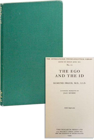 London: Hogarth Press / Institute of Psycho-Analysis, 1949. Fifth impression. Octavo; publisher's gr...