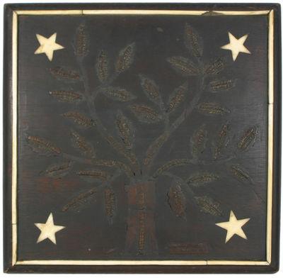 A Civil War Soldier's Carved Wooden...