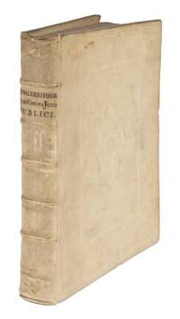 Quaestionum Juris Publici, Libri Duo, Quorum Primus Est de Rebus.. by  Cornelius van Bynkershoek - First edition - 1737 - from The Lawbook Exchange Ltd (SKU: 72066)