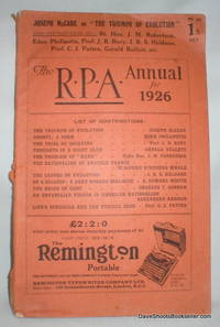 The R.P.A. Annual for 1926