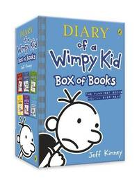 image of Diary of a Wimpy Kid: Box of Books (books 1-6)