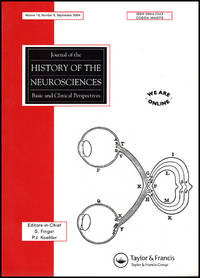 Journal of the History of the Neurosciences (Vol 13, No. 3, September 2004)