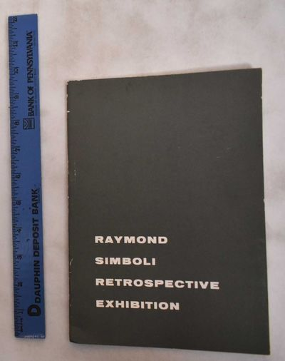 Greensburg, PA: Westmoreland Museum of American Art, 1965. Softcover. VG-. edge-wear to covers & spi...