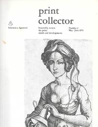 Print Collector ( Bimonthly Review The Print: Trends And Developments ) Number 2 May-June 1973
