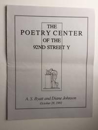 A. S. Byatt and Diane Johnson October 28, 1991