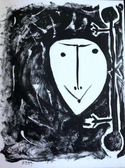 ÉLÉGIE D'IHPÉTONGA, with four lithographs by Picasso. Yvan Goll. Élégie d'Ihpétonga. Éditions...