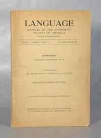 A Grammar Of Tetelcingo (Morelos) Nahuatl