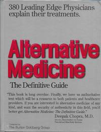 image of Alternative Medicine: The Definitive Guide