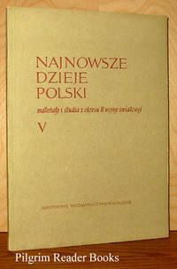 Najnowsze Dzieje Polski: Materialy I Studia Z Okresu II Wojny Swiatowej,  Tom V.