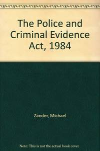 The Police and Criminal Evidence Act, 1984
