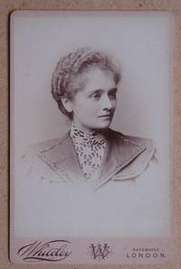 Cabinet Photograph: A Portrait of a Young Woman.