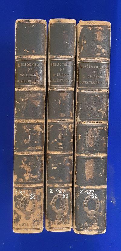 Bibliothèque de M. le Baron...