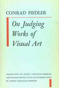 On Judging Works of Visual Art. [First edition].