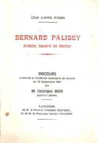 Bernard palissy artiste  savant et martyr