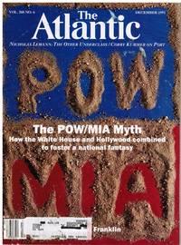 image of The ATLANTIC 12/91. The P.O.W/MIA MYTH, THE AMERICAN UNDERCLASS: PUERTO RICO
