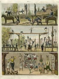 Gymnastics - untitled engraving