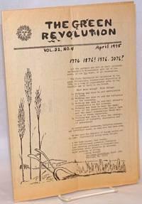 image of The Green Revolution: Vol. 32 No. 4, April 1975
