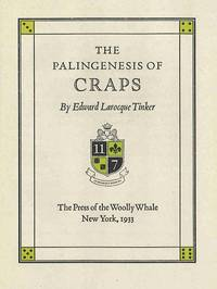 THE PALINGENESIS OF CRAPS