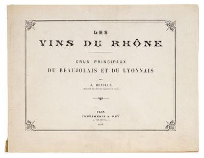 Les Vins du Rhône. Crus principaux...