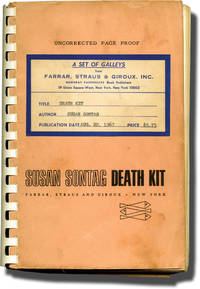 image of Death Kit (Uncorrected Proof, with annotations)
