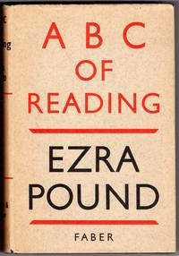 A B C  OF READING by  Ezra Pound - First Printing - 1951 - from Mirror Image Book and Biblio.co.uk