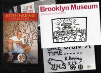 image of Keith Haring Postcards and a Button