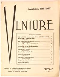 image of Venture. Vol. 2, No.1 (September, 1960). Special Issue: Civil Rights