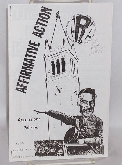 Berkeley: Center for Racial Education, 1995. Magazine. 5.5x8.5 inches, illustrations, photocopied, t...