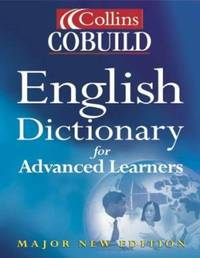 image of Collins Cobuild English Dictionary for Advanced Learners: Major New Edition