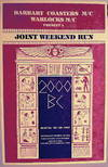 View Image 2 of 2 for Joint Weekend Run: 2000 BC; June 24.25.26 1987, Stanislaus National Park (poster) Inventory #177220