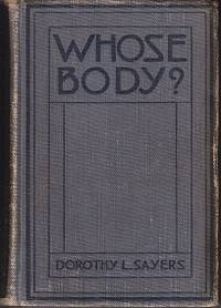 Whose Body? by Sayers, Dorothy L - 1923
