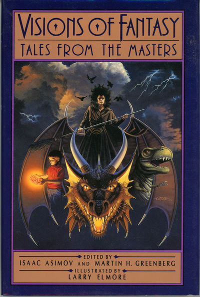 New York, London, Toronto, Sydney, Auckland: Doubleday, 1989. Octavo, illustrations by Larry Elmore,...