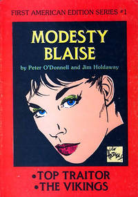 MODESTY BLAISE: FIRST AMERICAN EDITION SERIES 1 THROUGH 3.