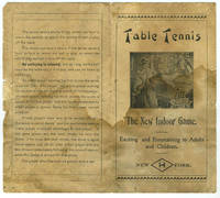 image of 'Table Tennis. The New Indoor Game'