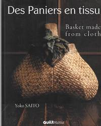 Basket Made From Cloth ( Des Paniers En Tissu ) French And English Language Text ( 4 Full Size...