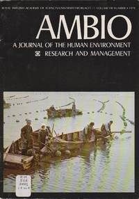 Ambio: A Journal of the Human Environment Research and Management, Volume VIII Number 4 1979