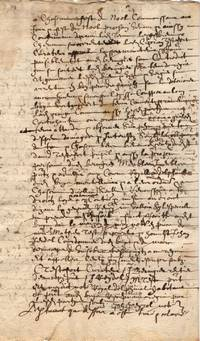 image of Notarial extract, in French with transcription and translation, (Ciprian, gentleman, of Le Buis-les-Baronnies, southern Dauphiné, now in Drôme)