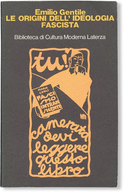 : Laterza, . First Edition. Paperback. Octavo (ca. 22cm.); publisher's black pictorial card wrappers...