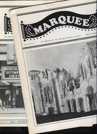 image of Marquee. The Journal of the Theatre Historical Society