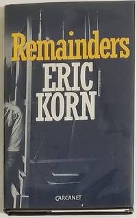 REMAINDERS. Essays