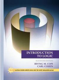 image of Introduction to Logic