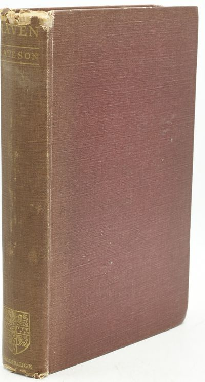 Cambridge: Cambridge at the University Press, 1936. Hard Cover. Good binding. There are two previous...