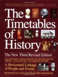image of Timetables of History: The New Third Revised Edition