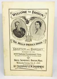 [MENU] Welcome to Boston! The Hello America Hour! 1939 National Encampment Corp.